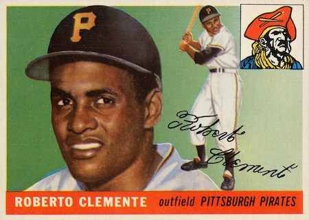 55 topps clemente rc